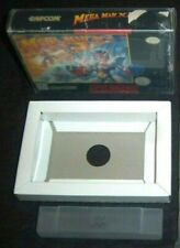 Mega Man X3  (SNES, 1996)  GAME BOX ONLY + WHITE CARDBOARD INSERT CARTRIDGE TRAY
