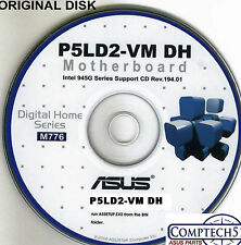 ASUS GENUINE VINTAGE ORIGINAL DISK FOR P5LD2-VM DH Motherboard Disk M776