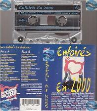 LES ENFOIRES EN 2000 cassette K7 tape JJ GOLDMAN CABREL FIORI SEGARA ZAZIE FOLY