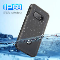 REDPEPPER Waterproof Clear Phone Case Fingerprint Unlock for Samsung Galaxy S10e