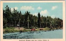 LINDSAY, ONT  Canada   GREENHURST STURGEON  LAKE     c1940s   Postcard