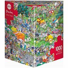 Heye Triangular 1000 Piece Jigsaw Puzzle Cycle Race Blachon Hy29888