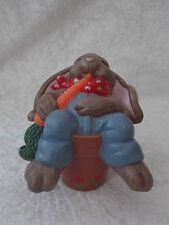 Brand New Ceramic Novelty Garden Bunny Rabbit Plant Flower Pot Animal Ornament.