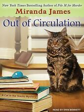 Cat in the Stacks Mystery: Out of Circulation 4 by Miranda James (2014, MP3...