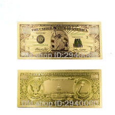 american one million 24k gold banknote collectible Us gift money birthday gifts