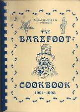 * MESA AZ 1992 ORDER OF THE EASTERN STAR * OES * THE BAREFOOT COOK BOOK ARIZONA