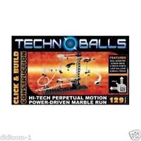 Techno Balls / Spacerail 129-Hi-Tech-Perpetual Motion Marble Run Roller Coaster