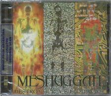 MESHUGGAH DESTROY ERASE IMPROVE RELOADED EDITION + 5 BONUS TRACKS SEALED CD NEW
