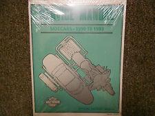 1990 1991 1992 1993 Harley Davidson Seitenwagen Sidecar Service Shop Manual OEM