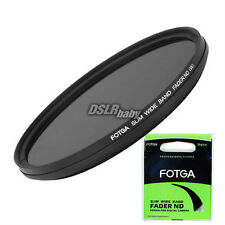 Fotga Variable Fader Graduated ND Camera Filter 72mm ND2 ND400 Neutral Density