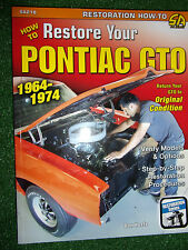 How to Restore Your Pontiac GTO book resoration manual 389cu in V8 1964-1974
