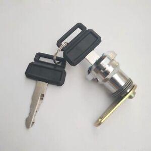 Cab door lock cylinder for Doosan Daewoo DH150 215 220 225 300-7 Excavator