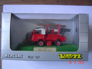 VEREM Mercure pompiers:Renault 4x 4  réf 107