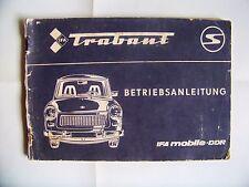 1985 + OWNER MANUAL + TRABANT 601 + DDR + EAST GERMAN + NOSTALGIA +