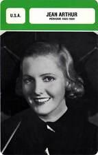 FICHE CINEMA :  JEAN ARTHUR 1923-1934 -  USA (Biographie/Filmographie)