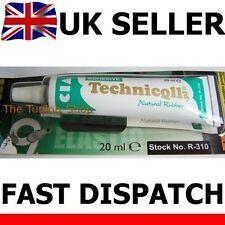 1x Fuerte Flexible Pegamento adhesivo para tubos de las mangueras de los textiles Tubo Interior De Goma 20ml