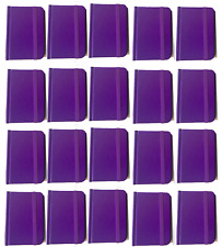 Hardcover Purple Notebook Journal 96 Pages Small 4 x 3 Ruled Bulk Lot 20