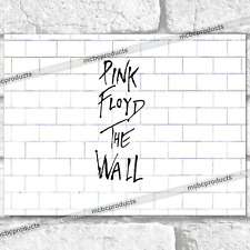 THE WALL PINK FLOYD Metal Signs Vintage Retro Man Cave Music Poster Tin Sign UK