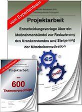 Betriebswirt BW Projektarbeit & Präsentation IHK Krankenstand +