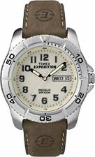 Timex Expedition Men's T46681 Quartz Traditional Watch with Off-White Dial Analo