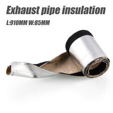 Heat Shield Sleeve Exhaust Pipe Insulation Thermal Cover high temperature rated