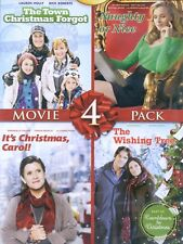 4 Hallmark Christmas Holiday movies, new DVD Town Forgot Naughty Nice Carol Tree