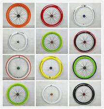 Track Bike Clincher Presta Bicycle Front Wheels