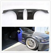 Fits BMW E46 M3 2 Doors Exterior Side Fender Vents Cover 1998-2005 Carbon Fiber