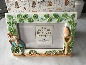 Border Fine Arts /  Enesco  Beatrix Potter Peter Rabbit Photo Frame 755117 Boxed