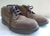 LL Bean L.L. Women's Hiking Shoes Brown Leather Ankle Boots Vtg  Size 7.5 M