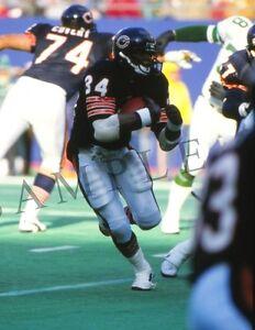 "HOF Chicago Bears Walter Payton NFL Football Player 8""x 10"" Photo Poster 112"