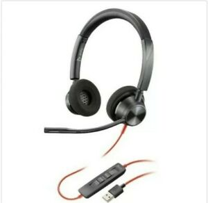 Plantronics Poly Blackwire 3320 USB-A Wired Headset BW3320M