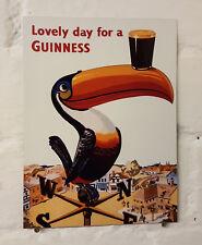 Signo de Aluminio Metal Guinness Retro Vintage Bar Pub Cueva de hombre cerveza signos. cobertizo den