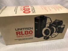 VTG Unitron RL80 RL 80 Nikon Camera Photography Ring Light Electronic Flash NIB