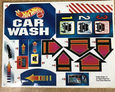 New Sticker Set For Hot Wheels 1996 Car Wash Mattel Playset (Sticker Set Only)