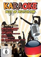 KARAOKE-BEST OF DEUTSCHPOP  DVD NEU