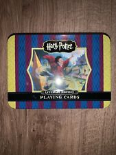 NEW HARRY POTTER LIMITED EDITION Playing Cards In Tin. Early Images