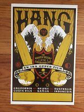 Hang Longboard Surf Surfing Surfboard Vintage Movie Poster Ira Opper Hawaii