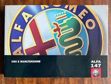 Alfa Romeo / Alfa 147 - Uso e Manutenzione - Fiat Auto S.p.A. 2004