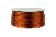 TEMCo Magnet Wire 24 AWG Gauge Enameled Copper 200C 1lb 790ft Coil Winding