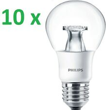 10 x Philips LED lámpara Master e27 Led Bombilla 9w = 60w lámpara cálido regulable