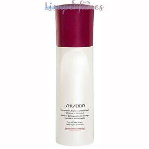 Shiseido Complete Cleansing Microfoam All Skin Types 6oz / 180ml NIB