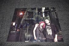 WACHOWSKIS signed Autogramme auf 20x25 cm Foto LANA & ANDY InPerson THE MATRIX