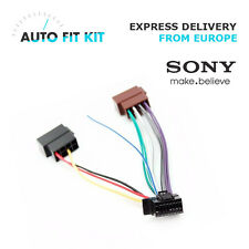 Sony 16 Pin ISO Wiring Harness Loom Adaptor Wire Radio Connector Lead - New