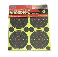 Birchwood Casey Shoot-N-C Self Adhesive Reactive Targets 48 Pack pellets airgun