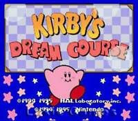 Kirby's Dream Course - SNES Super Nintendo Game