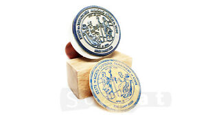 Custom Rubber Stamp Personalized Self-Inking Stamp for Business or Invitations