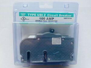 🎈 ZINSCO UBIZ-2100 100 AMP 2 Pole Circuit Breaker TYPE UBI Z 120/240 VAC