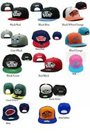 VANS SNAP BACK HATS WITH CLASSIC VANS OFF THE WALL LOGO.