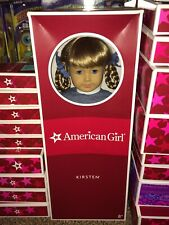 """18"""" American Girl Doll KIRSTEN & Book NRFB New in Box Never Removed Retired NIB"""